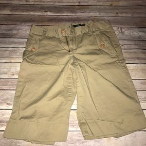 MARC BY MARC JACOBS SIZE 6 BERMUDA SHORTS